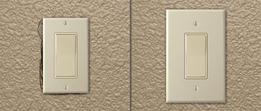Oversized Outlet Covers, Oversized Switch Plates, Jumbo Wall Plates