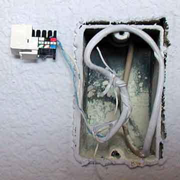 telephone jack installation instructions & photo guide phone jack wiring instructions