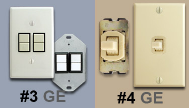 GE Low Voltage Lighting Images. Ex&les of Low Volt GE Switches & Low Voltage Lighting System in Older Home - Identify Your Brand