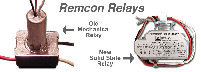 Remcon Mechanical Solid State Relays on Remcon Low Voltage Switches
