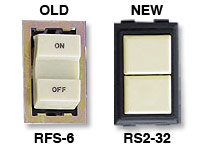GE low voltage switches old RFS-6 new RS232