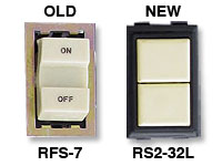 Replace Old GE RFS-7 with New GE RS2-32L