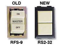 Replace Old GE RFS-9 with New RS232 Switch