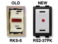 RS2-32PK Replaces GE RKS-8 Low Volt Switch