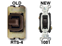 1081 Replaces Brown RTS4 Switch