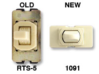 Buy GE 1091 to replace old GE RTS-5 switch