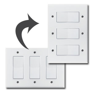 Triple Switch Plate Now Too Large For Your Space Find