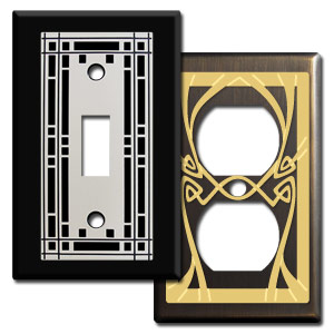 Decorative \u003e  sc 1 th 225 & Switch Plates \u0026 Outlet Covers Electrical Outlets \u0026 Light Switches