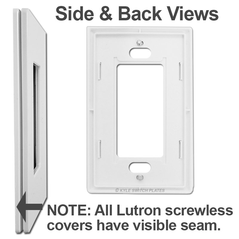 View of Lutron Sub-Plate & Side Seam
