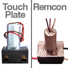 Verify Relays are Touch Plate Brand