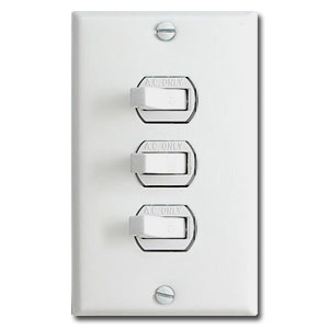 Horizontal flip toggle light switch wall plates triple toggle horizontal light switch plates aloadofball Choice Image