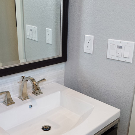 Bathroom Switch Plate Solution
