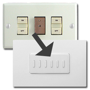 Upgrade GE with Touch Plate