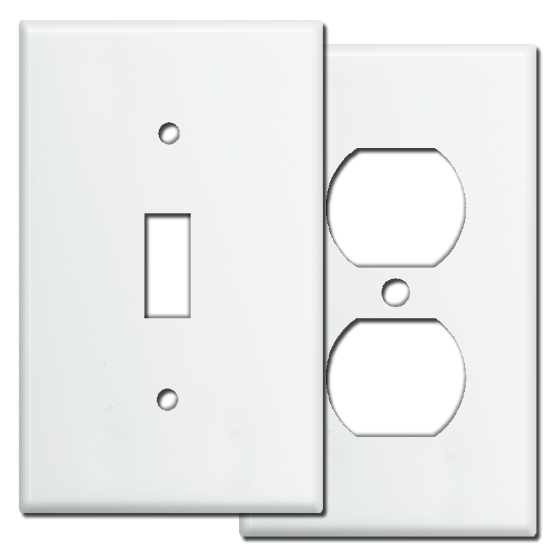 White Wall Switch Plates Cool Painting Switch Plates How To Paint Wall Plate Covers  Tips & Ideas Inspiration Design