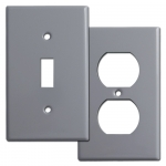 Gray Switch Plates