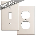 Light Almond Switch Plates