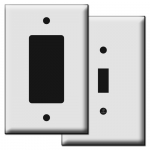 Midway Plastic Switch Plates