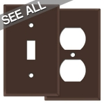 Brown Wall Plates - Best Selling Sizes