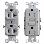 Gray Electrical Outlets