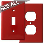 Red Wall Plates - Best Selling Sizes