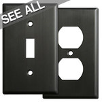 Dark Bronze Wall Plates - Best Selling Sizes