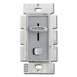 Gray Ceiling Fan Control Switches
