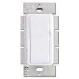 White Rocker Switch with Preset Slider Lever Dimmers