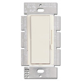 Light Almond Lutron 3-Way Rocker Switch, Preset Dimming Lever