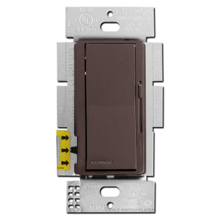 Brown Dimmable CFL LED Lightbulb Rocker Switches