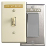 Label your light switches with Engraved Tags