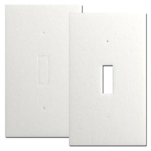 Energy Saving Foam Insulating Gaskets - Toggle Switch Plates