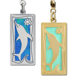 Decorative Dolphin Ceiling Fan Pull