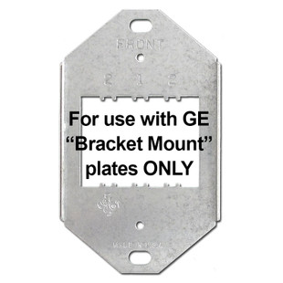 Mounting Brackets for 1 or 2 GE Low Volt Switches