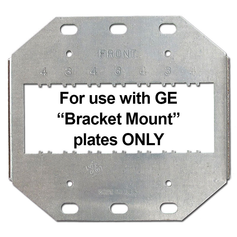 Tremendous Ge 2 Gang Mounting Brackets For 3 Or 4 New Style Low Voltage Wiring Database Numdin4X4Andersnl