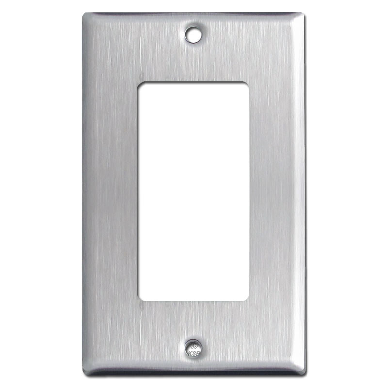 1 Decora Light Switch Covers Spec Grade 302 Stainless Steel