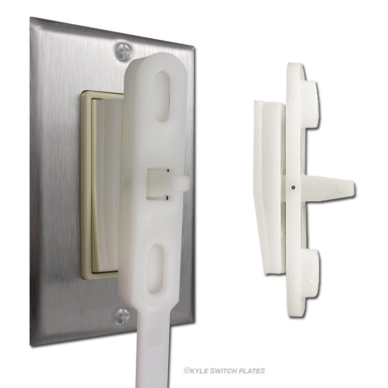 Modern Light Switches >> Kidswitch Decora Rocker Light Switch Adapter