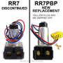 New GE RR7 PBP replaces discontinued snipped lead RR7