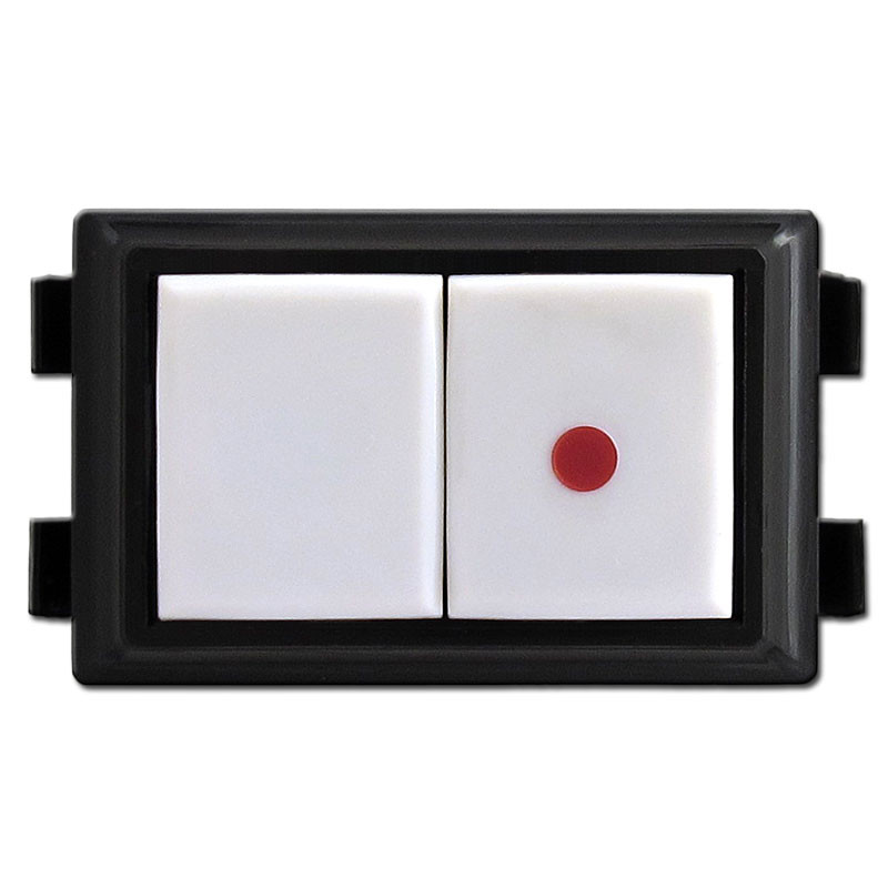 GE Low Voltage Pilot Light Switch RS232P Ivory