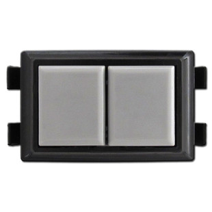 Gray GE RS239 Low Voltage Light Switch