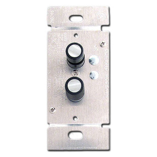 Narrow Single Pole 600 Watt Push Button Light Switch Dimmers