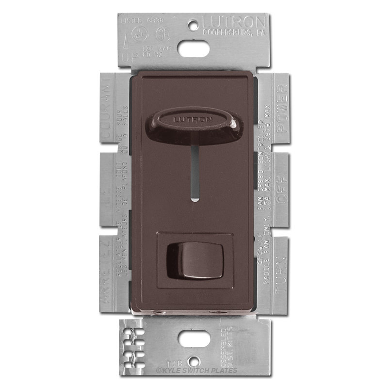 Brown Ceiling Fan Controller   3 Speed With Light Switch