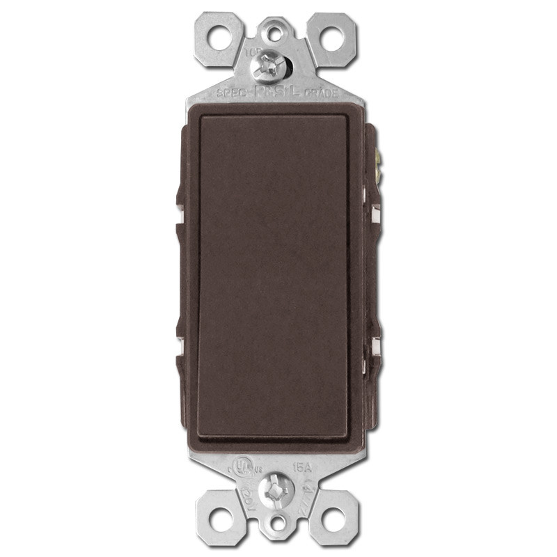 Brown 4 Way Rocker Switches Kyle Switch Plates