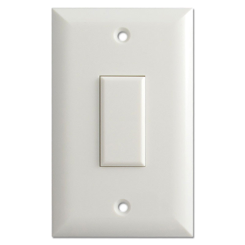 Genesis Low Voltage Touch Plate Switch 1 Button White
