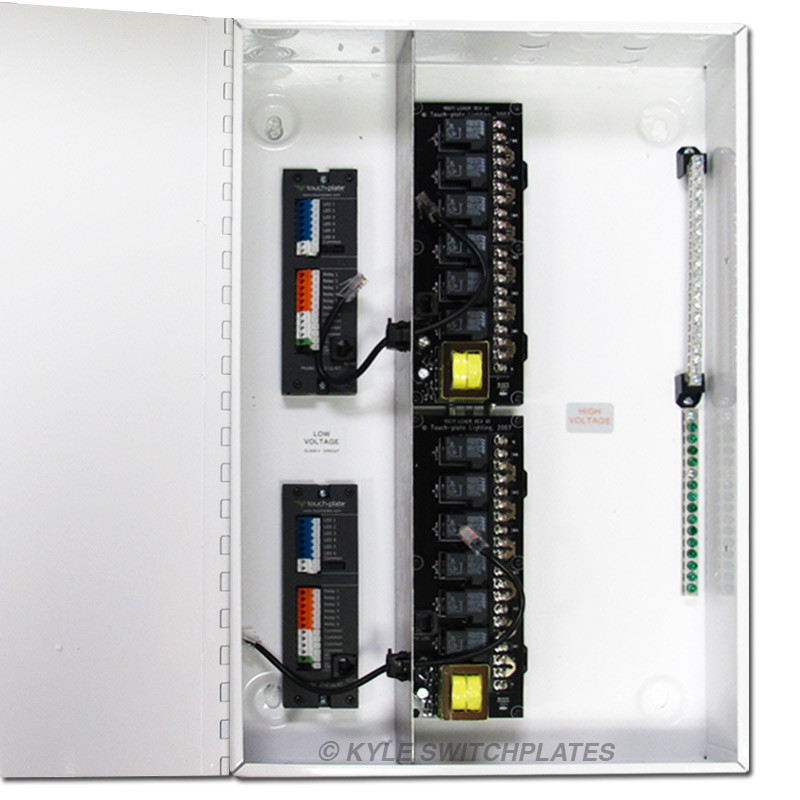 Control And Relay Panel Wiring Diagram : Lighting control relay ideas