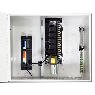 Touch-Plate ZoneZ 6 Relay Low Voltage Control Panels
