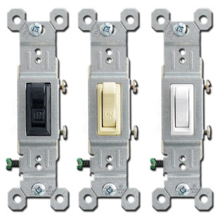 15A Toggle Light Switches Leviton 1451 | Kyle Switch Plates:Leviton 15A Toggle Light Switches,Lighting