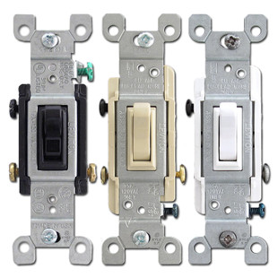 3 Way 15A Toggle Light Switches Leviton