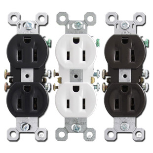 15a Tamper Resistant Duplex Outlets Pass And Seymour 3232tr