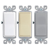 3 Way 15A Decora Rocker Light Switch Leviton