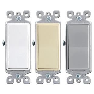 3 Way 15A Decora Rocker Light Switch Leviton